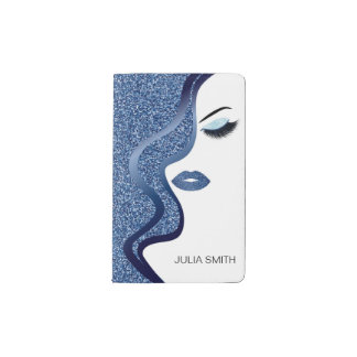 Cuaderno De Bolsillo Moleskine Maquillaje con efecto del purpurina