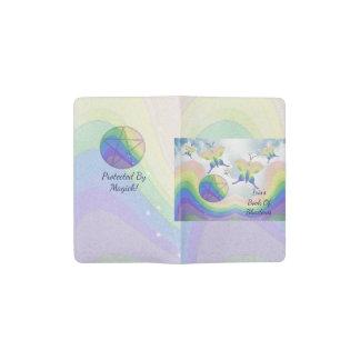 Cuaderno De Bolsillo Moleskine Pentáculo SM de la mariposa del arco iris. BOS