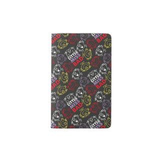 Cuaderno De Bolsillo Moleskine Pequeña Srta. Bad modelo negro, rojo y amarillo