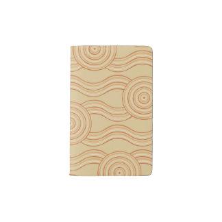Cuaderno De Bolsillo Moleskine Piedra arenisca aborigen del arte