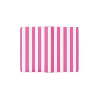 Cuaderno De Bolsillo Moleskine Rayas verticales rosadas