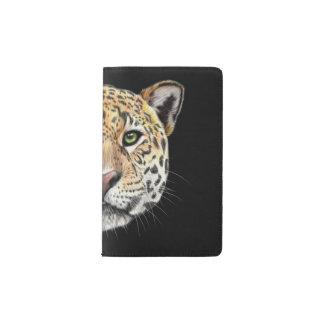 Cuaderno De Bolsillo Moleskine Retrato ilustrado del jaguar