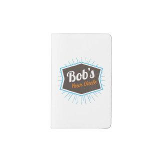 Cuaderno De Bolsillo Moleskine Su chiste del tío Funny Man Named Bob de Bob