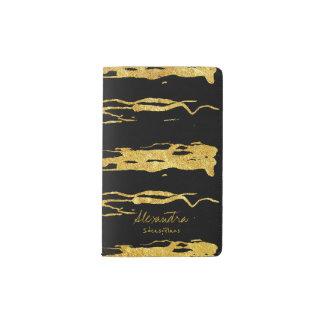 Cuaderno De Bolsillo Moleskine Texto pintado a mano de la caligrafía de los