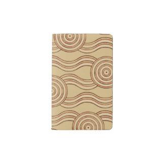 Cuaderno De Bolsillo Moleskine Tierra aborigen del arte