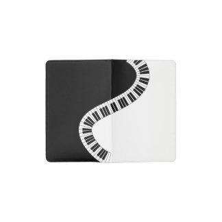 Cuaderno de bolsillo musical del piano