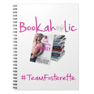 Cuaderno de Bookaholic del #TeamFosterette
