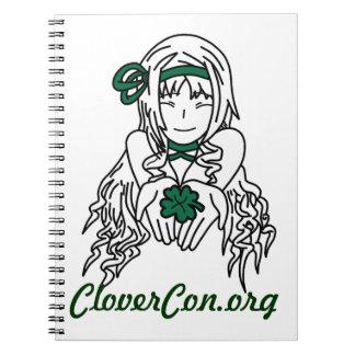 Cuaderno de CloverCon