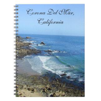 Cuaderno de Corona del Mar California
