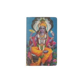 Cuaderno de encargo con la imagen de Vishnu