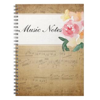 Invitaciones Notas Musicales Zazzlees