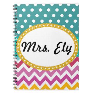 Cuaderno de encargo del regalo del profesor de