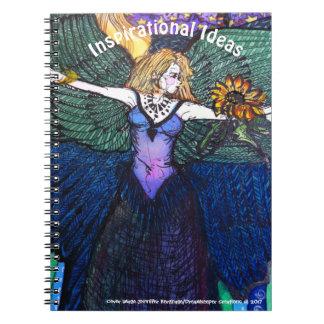 Cuaderno de hadas del ángel del destino