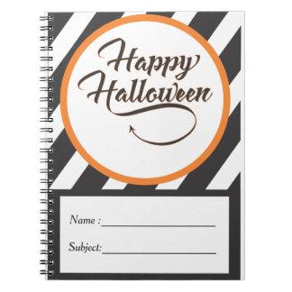 Cuaderno de Halloween