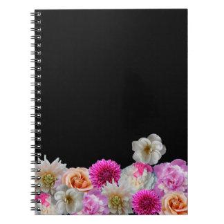 Cuaderno de la alegría de la flor