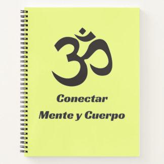Cuaderno de la aptitud de Conectar Mente y Cuerpo