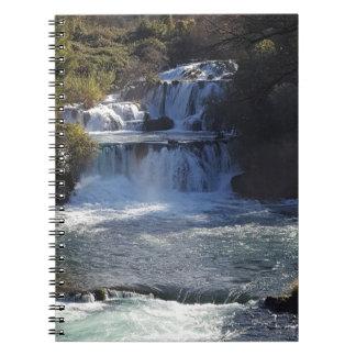 Cuaderno Cuaderno de la cascada