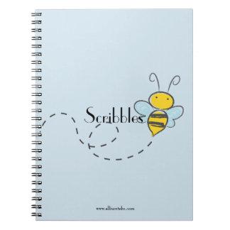 Cuaderno de la escritura