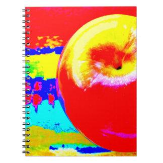 Cuaderno de la foto de Apple del estallido