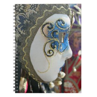 Cuaderno de la máscara del carnaval
