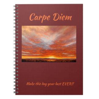 Cuaderno de la página de Carpe Diem 80