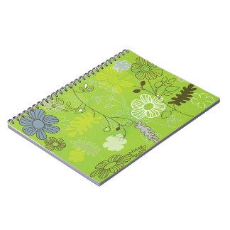 cuaderno de la verde-flor