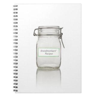 Cuaderno de las recetas (80 páginas B&W)