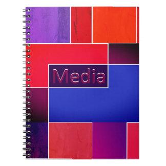 Cuaderno de los medios caliente