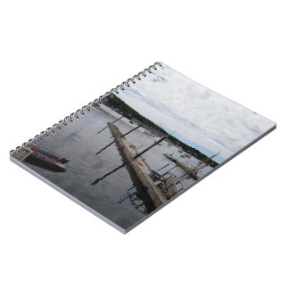 Cuaderno de MaineSpiral del puerto de Boothbay de
