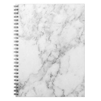 Cuadernos y libretas for Marmol negro y blanco