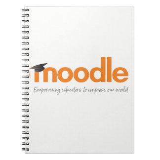 Cuaderno de Moodle: Lápiz anaranjado