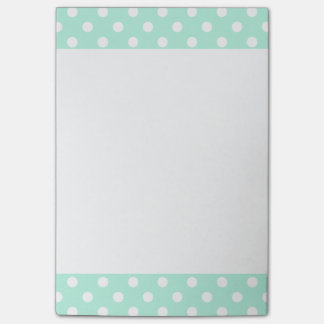 Cuaderno de notas del post-it de los lunares de la