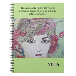 Cuaderno de notas para acabar y empezar bien el añ