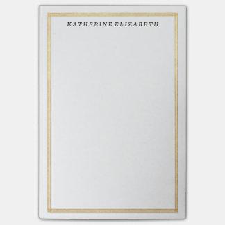 Cuaderno de notas personalizado frontera del art