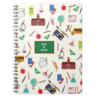 Cuaderno De nuevo a escuela