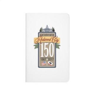 Cuaderno De Viaje 150o aniversario de Redwood City