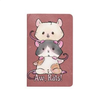 Cuaderno De Viaje ¡Aw, ratas!