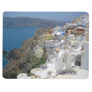 Cuaderno De Viaje Calendario 2015 de Santorini Grecia 2014