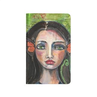 """Cuaderno De Viaje """"Diario del bolsillo del chica hermoso de Jeanette"""