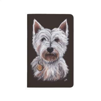 Cuaderno De Viaje Ejemplo en colores pastel del mascota de la