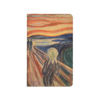 Cuaderno De Viaje El grito de Edvard Munch