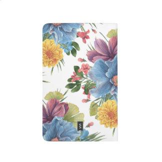 Cuaderno De Viaje Flores de la acuarela