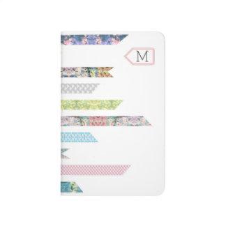Cuaderno De Viaje Pasteles de la cinta de Washi el | DIY y artes el
