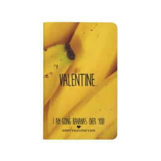 Cuaderno De Viaje Plátanos que van sobre usted el día de San