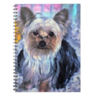 Cuaderno de Yorkshire Terrier
