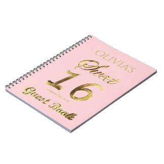 Cuaderno Décimosexto oro del libro de visitas del