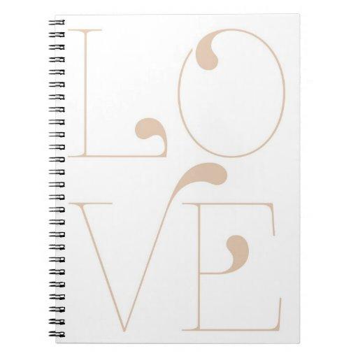Cuaderno del amor de la palabra de cuatro letras