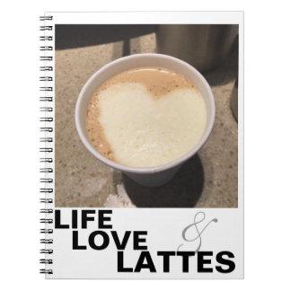 Cuaderno del amor y de Lattes de la vida