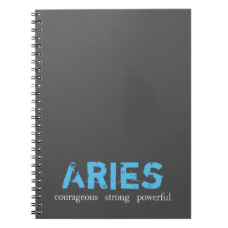 Cuaderno del aries