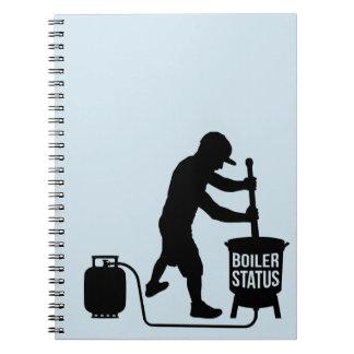 cuaderno del boilerstatus